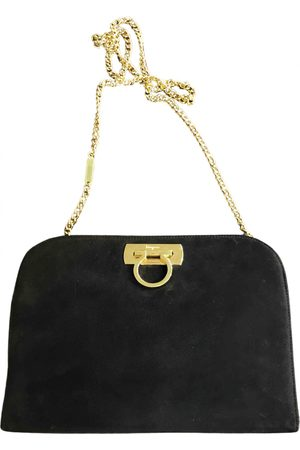 Salvatore Ferragamo Suede Clutch Bags
