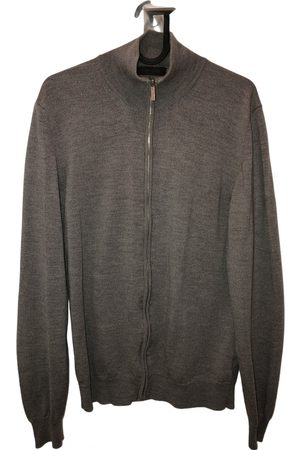 Calvin Klein Grey Wool Knitwear & Sweatshirts