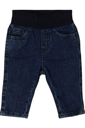 Emporio Armani Baby stretch-cotton jeans