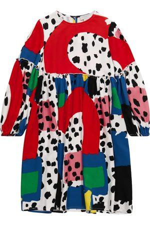 Stella McCartney Printed ruffled dress