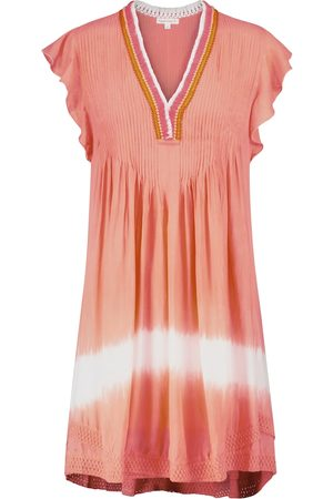 POUPETTE ST BARTH Exclusive to Mytheresa – Sasha fringed and tie-dye minidress