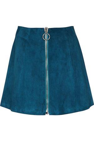 Stouls Fantomette suede miniskirt