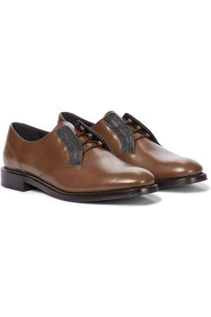 Brunello Cucinelli Leather brogues