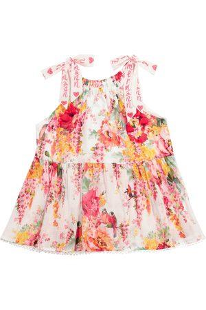 ZIMMERMANN Mae Flounce floral cotton top