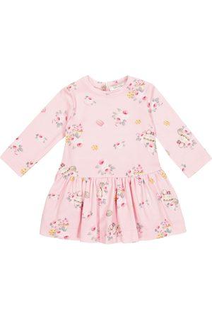 MONNALISA Baby floral jersey dress