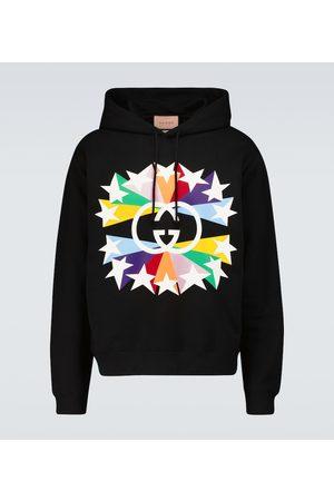 Gucci Interlocking G star hooded sweatshirt