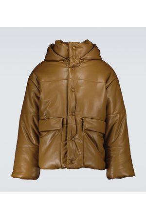 Nanushka Faux-leather padded jacket