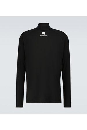 Balenciaga Long-sleeved bike jersey