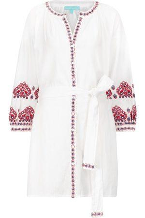 Melissa Odabash Exclusive to Mytheresa – Tania cotton and linen kaftan