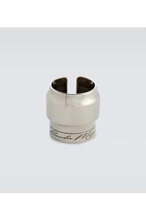 Alexander McQueen Engraved ring