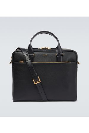 Tom Ford Grained leather briefcase
