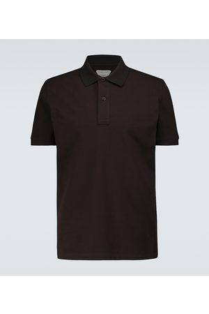 Bottega Veneta Short-sleeved cotton piqué polo