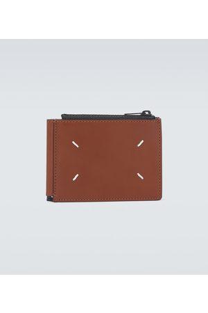 Maison Margiela Money clip leather wallet