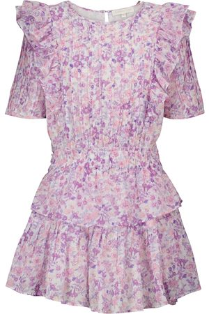 LOVESHACKFANCY Natasha floral cotton minidress