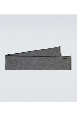 Ermenegildo Zegna Chevron cashmere scarf