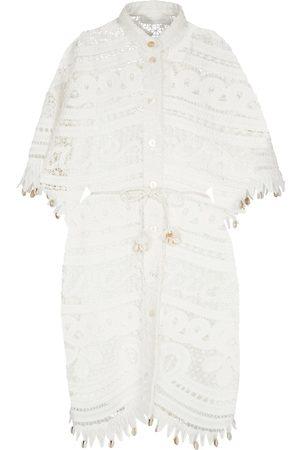 ZIMMERMANN Shelly linen and cotton minidress