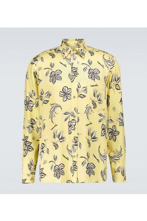 Nanushka Floral printed long-sleeved shirt
