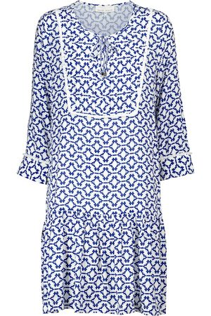 Heidi Klein Mykonos printed minidress