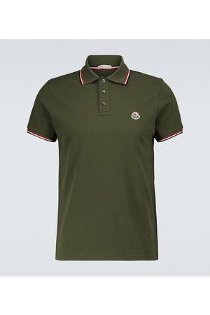 Moncler Short-sleeved polo shirt