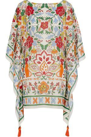 Tory Burch Floral cotton and silk kaftan