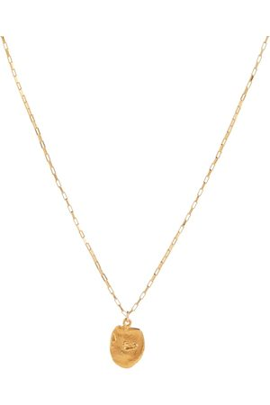 Alighieri The Baby Sinking Stars 24kt -plated necklace