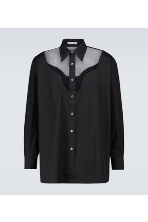 OUR LEGACY Lend long-sleeved cotton shirt