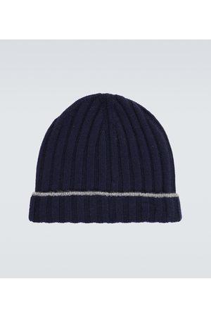 Brunello Cucinelli Ribbed cashmere hat