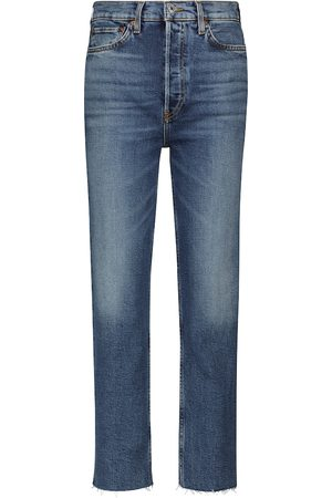 RE/DONE Stove Pipe Ultra High-Rise jeans