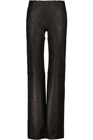 Stouls Oswald flared leather pants