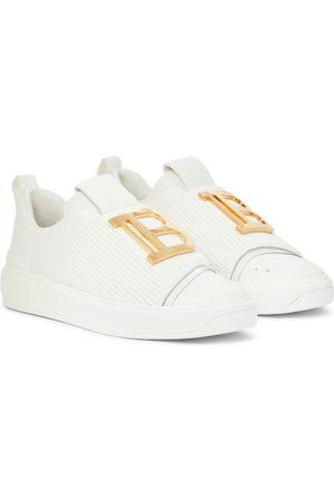 Balmain B Court leather sneakers