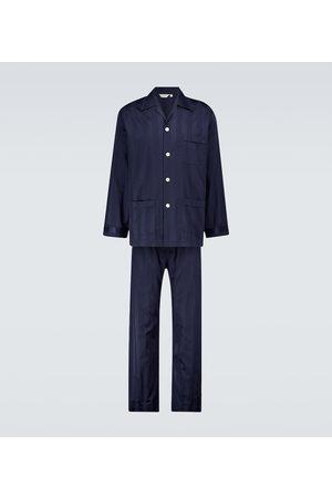 DEREK ROSE Lingfield cotton pajama set