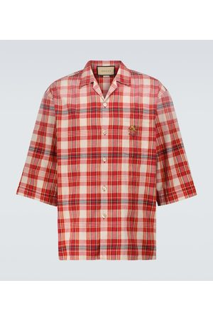 Gucci Ouverture short-sleeved bowling shirt