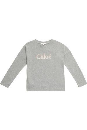 Chloé Logo cotton jersey T-shirt