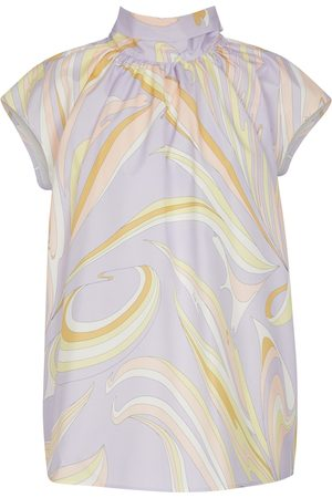 Emilio Pucci Short-sleeved printed blouse
