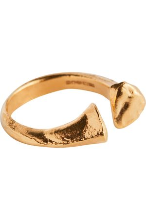 Alighieri The Silhouette of Desire 24kt -plated ring
