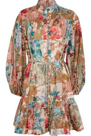 ZIMMERMANN Cassia floral cotton minidress