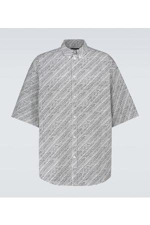 Balenciaga Archive Letters short-sleeved shirt