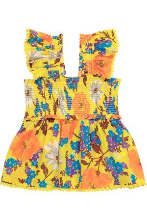ZIMMERMANN Estelle floral cotton top