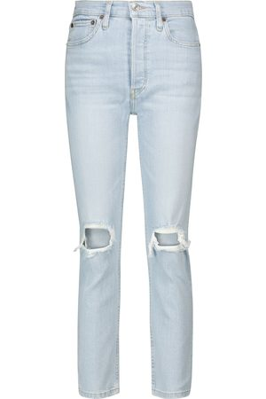 RE/DONE 90s high-rise cropped jeans
