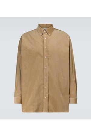 Acne Studios Spartan long-sleeved corduroy shirt