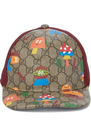 Gucci X Nina Dzyvulska GG Supreme baseball cap