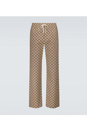 Gucci GG cotton-blend pants