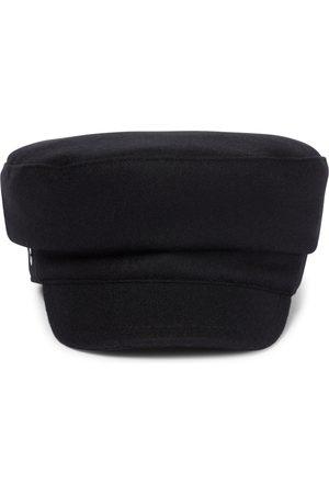 Loro Piana Lea wool and cashmere baker cap