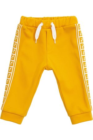 Fendi Baby cotton-blend sweatpants