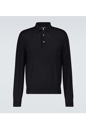Tom Ford Cashmere and silk polo shirt