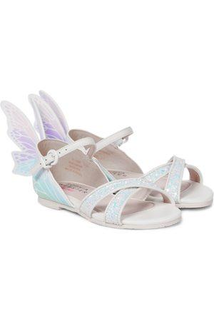 SOPHIA WEBSTER Talulah glitter leather sandals