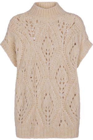 Brunello Cucinelli Short-sleeved wool sweater