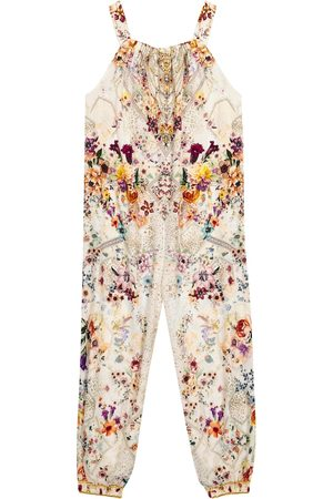 Camilla Embellished floral jumpsuit