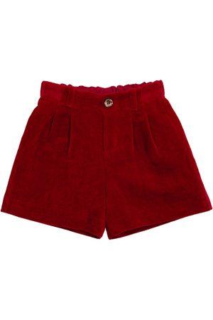 Gucci Baby velvet shorts