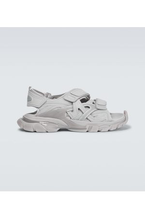 Balenciaga Track Clear Sole strapped sandals